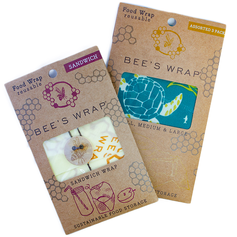 Reusable Beeswax Wraps Essential Starter Set