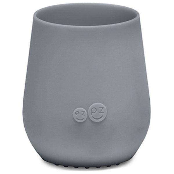 EarthHero - ezpz Silicone Tiny Cup - Gray