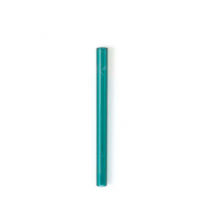EarthHero - Teal Glass Straw Set 8""