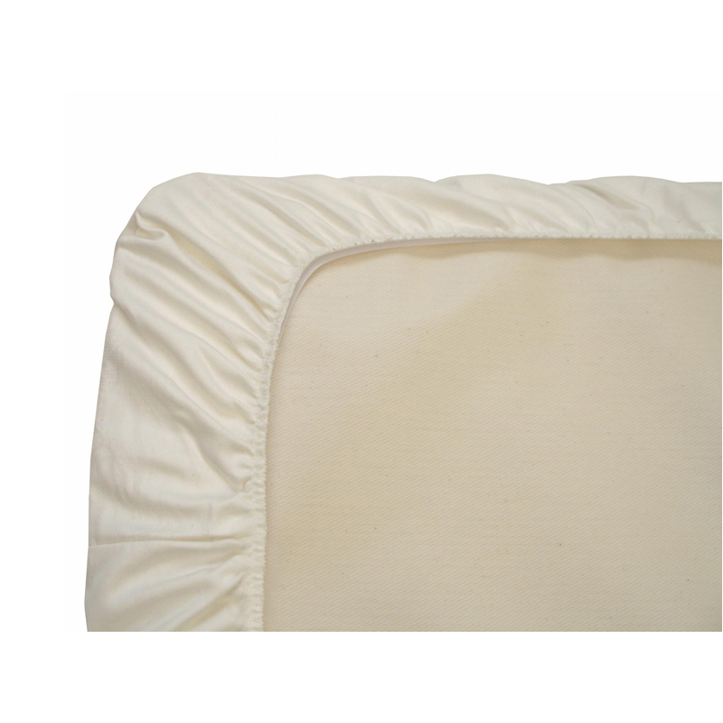 EarthHero - Organic Cotton Fitted Crib Sheets - Ivory