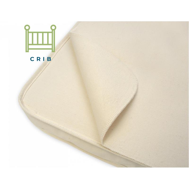 Organic Cotton Portable Crib Mattress Pad Shop Eco