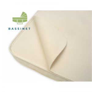 EarthHero - Organic Cotton Waterproof  Flat Bassinet Mattress Pad - 1