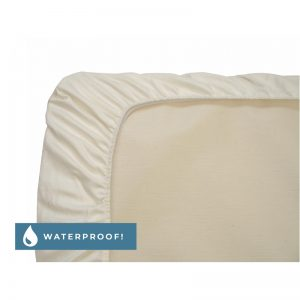 EarthHero - Organic Cotton Waterproof Fitted Crib Sheets - 1