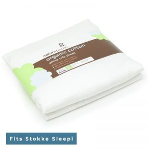 EarthHero - Organic Cotton Stokke® Crib Fitted Sheets - 1