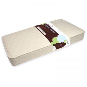 EarthHero - Kids Cotton Quilted Deluxe Organic Mattress - 1