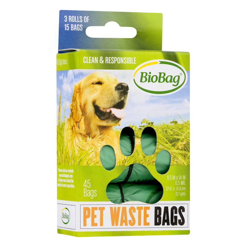 EarthHero - Compostable Dog Waste Bags - 45pk - 1