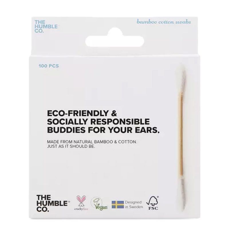EarthHero - Biodegradable Cotton Swabs - 100pk - White