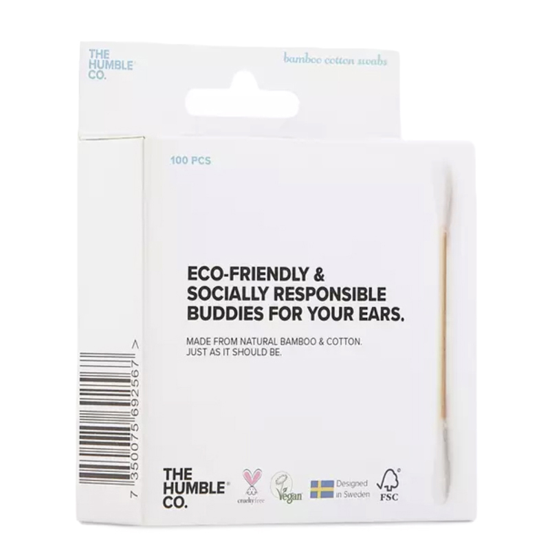 EarthHero - Biodegradable Cotton Swabs - 100pk - 5