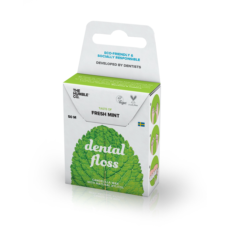 EarthHero - Fresh Mint Dental Floss  - 1