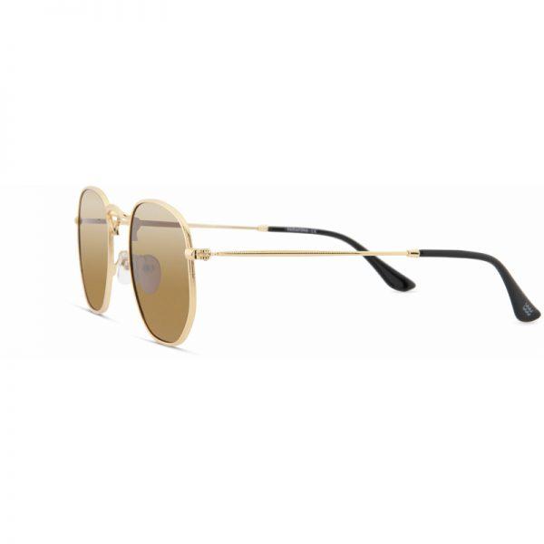 EarthHero - Tifon Recycled Polarized Sunglasses  - Peak Gold Royal Caramel