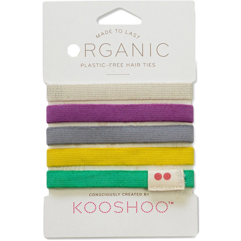 EarthHero - Multicolor Organic Hair Ties 1