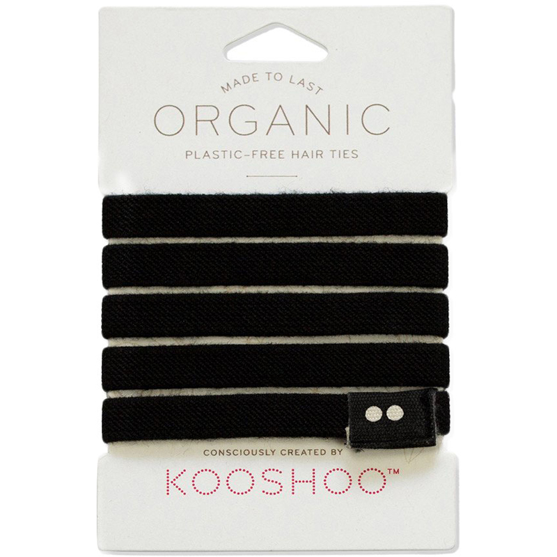 EarthHero - Organic Black Hair Ties 1