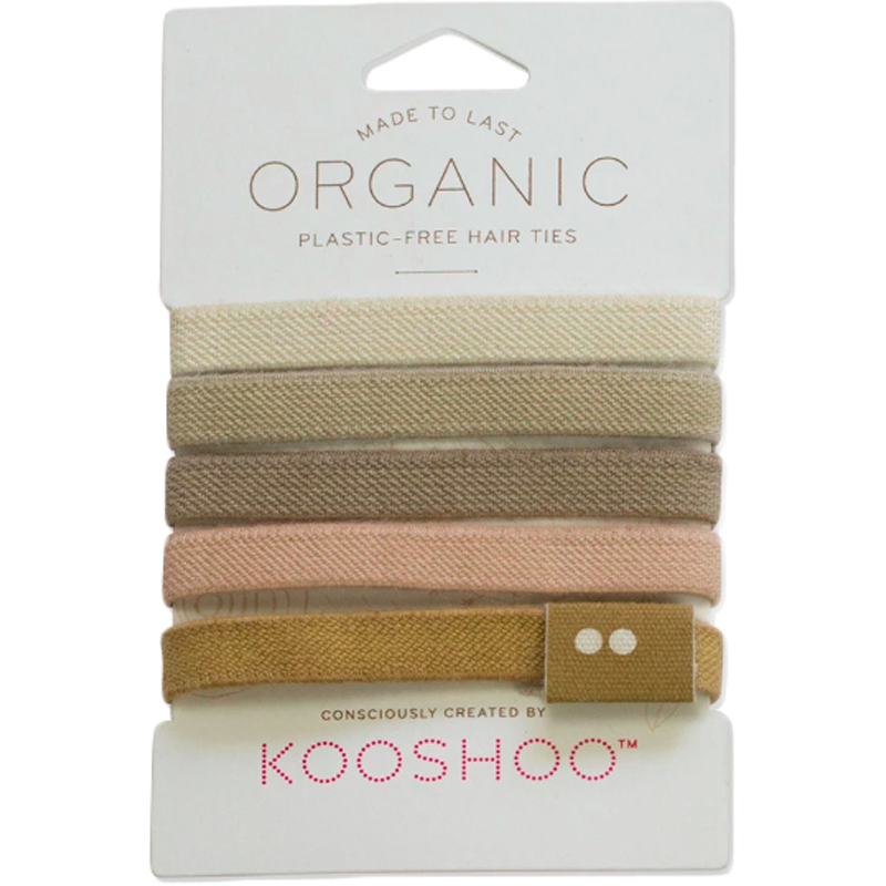 EarthHero - Blond Organic Hair Ties 1