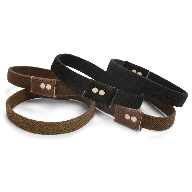 EarthHero - Brown + Black Organic Hair Ties 3