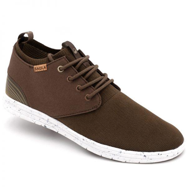 EarthHero - Men's Semnoz III Sneakers Vegan Shoes - Chocolate