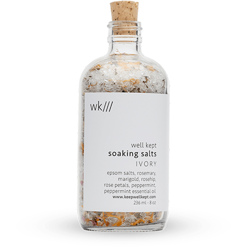 EarthHero - Ivory Soaking Bath Salts 8oz - 1