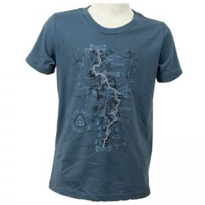 EarthHero - CDT Trail Map Kid's Graphic T-Shirt - 1