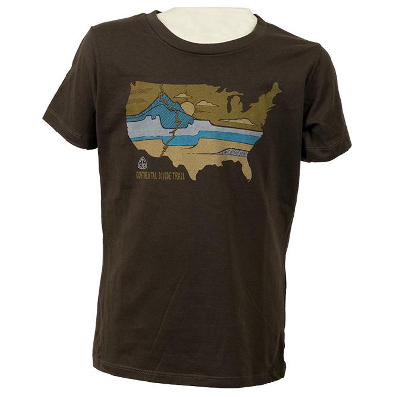 EarthHero - Divided Landscapes Kid's Graphic T-Shirt - 1