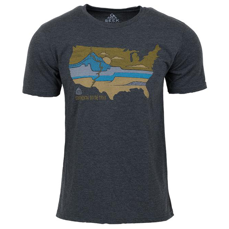 EarthHero - Divided Landscapes Men's Graphic T-Shirt - 1