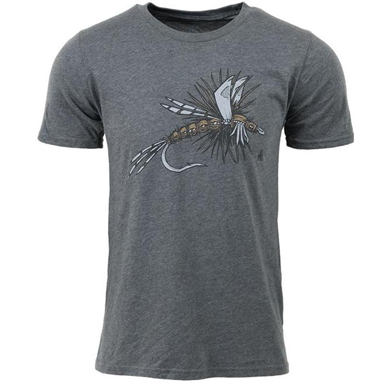 EarthHero - Dry Fly Men's Graphic T-Shirt - 1