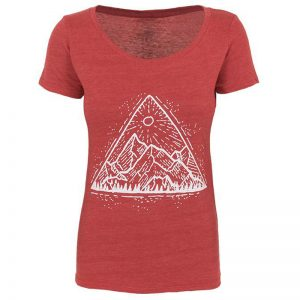 EarthHero - Mountain View Women's Graphic T-Shirt - 1