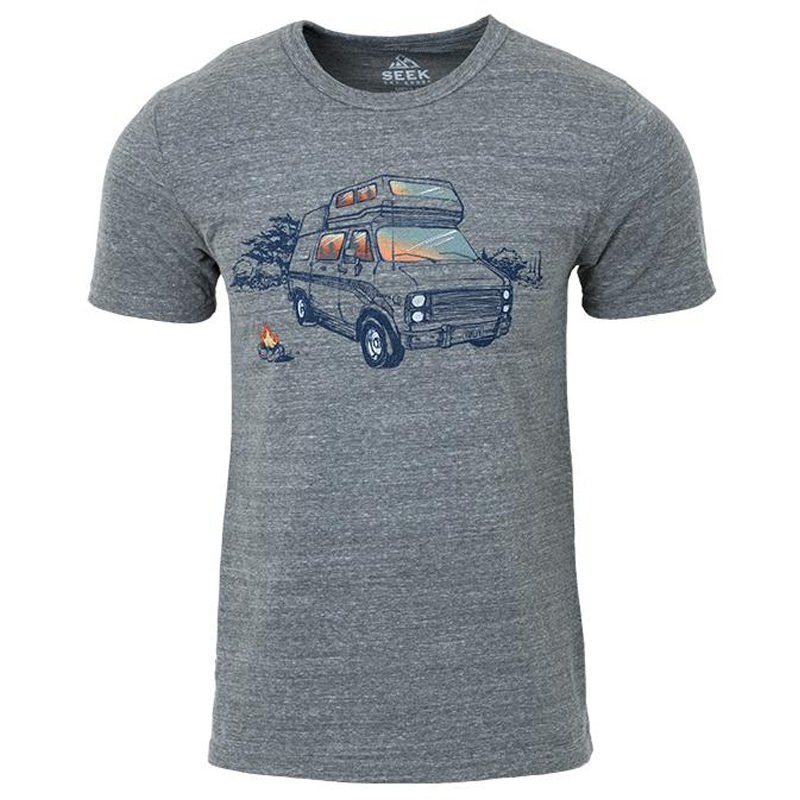 EarthHero - Van Life Men's Graphic T-Shirt  - 1
