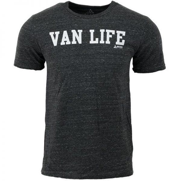 EarthHero - Van Life University Men's Graphic T-Shirt  - 1