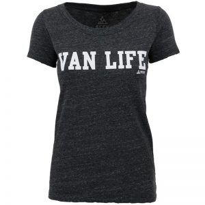 EarthHero - Van Life University Women's Graphic T-Shirt - 1