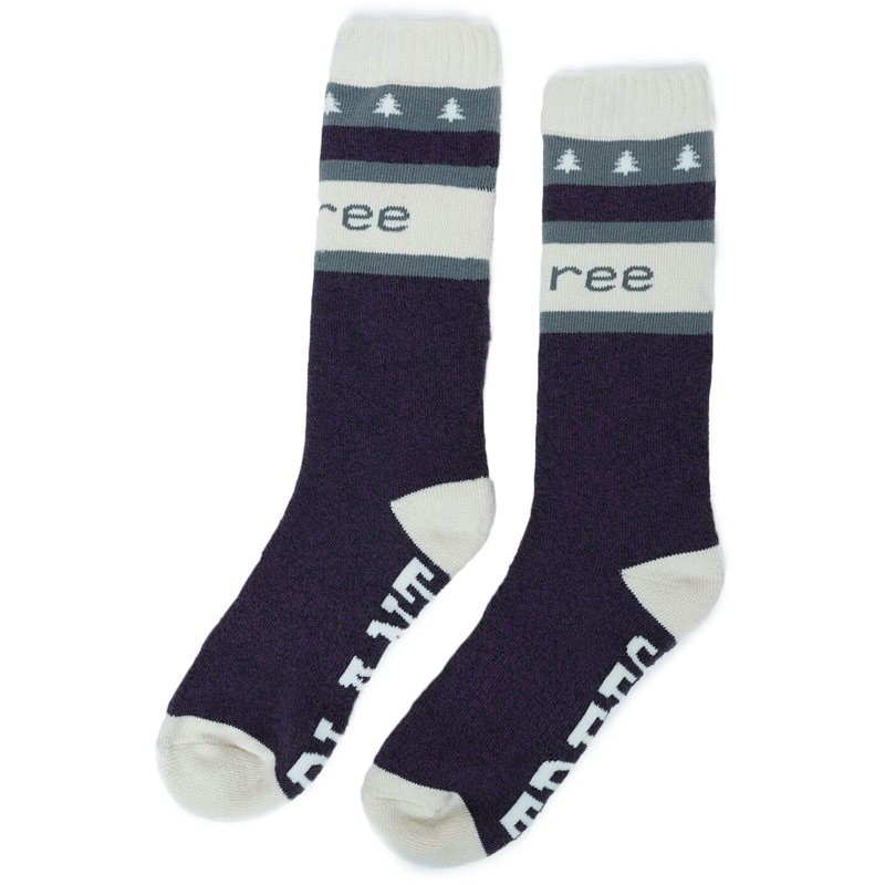 EarthHero - Eco-Blend Selkirk Cabin Knit Socks - 2pk  - 1