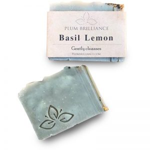 EarthHero - Basil Lemon Natural Soap Bar - 1