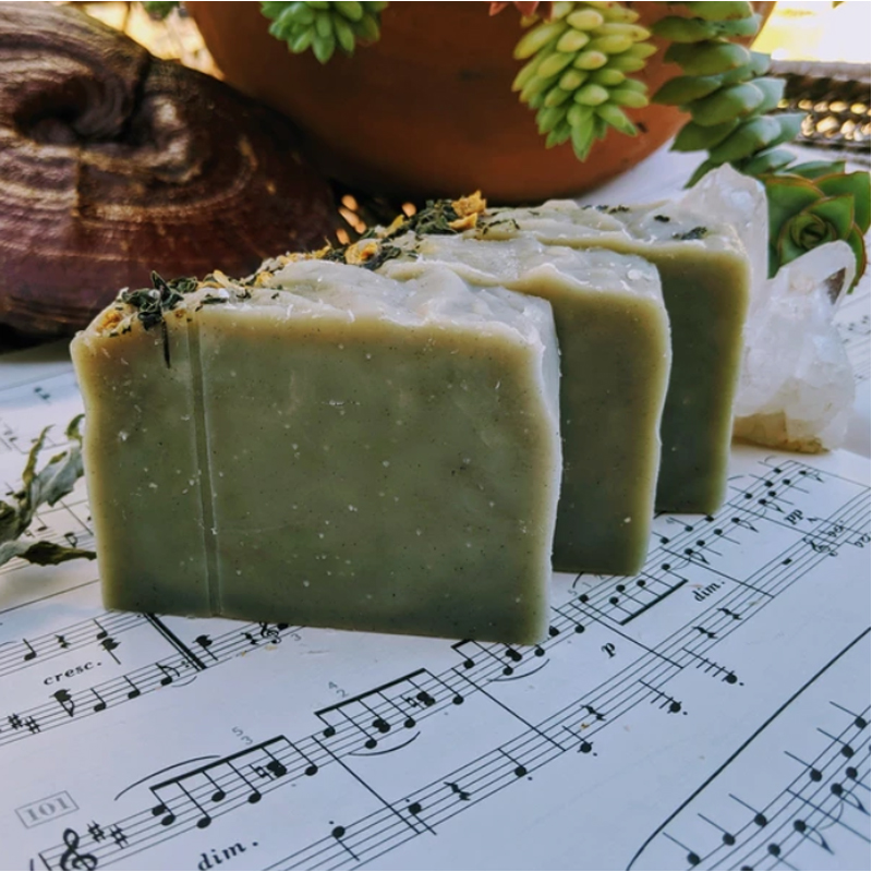 EarthHero - Basil Lemon Natural Soap Bar - 2