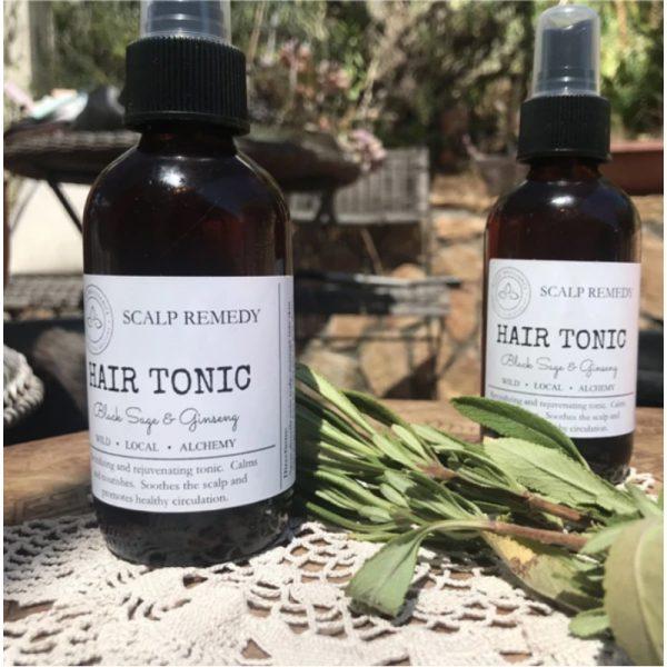 EarthHero - Black Sage + Ginseng Hair Tonic - 2