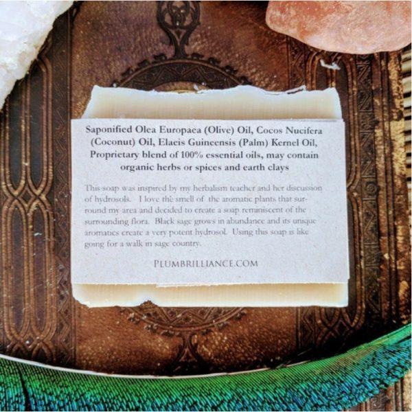 EarthHero - Black Sage Natural Soap Bar - 2