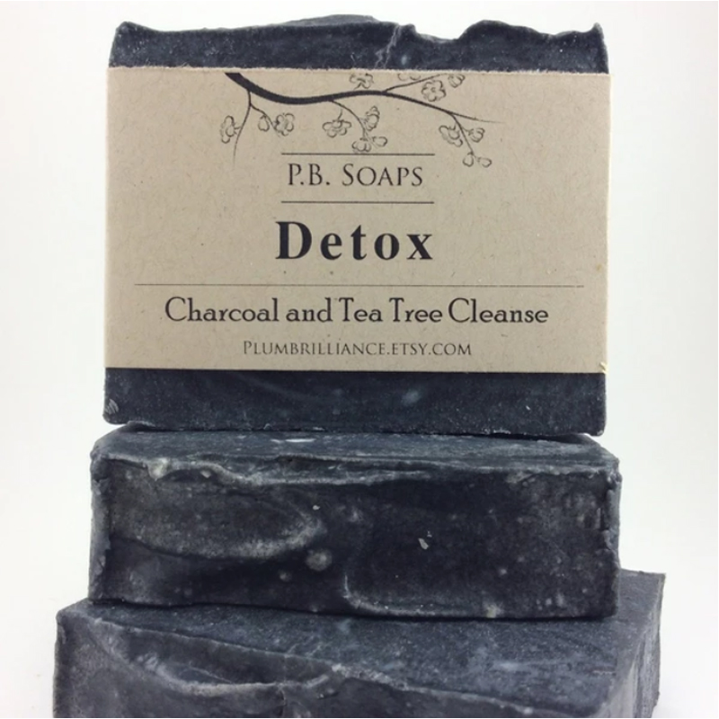 EarthHero - Detox Charcoal Natural Soap Bar - 4