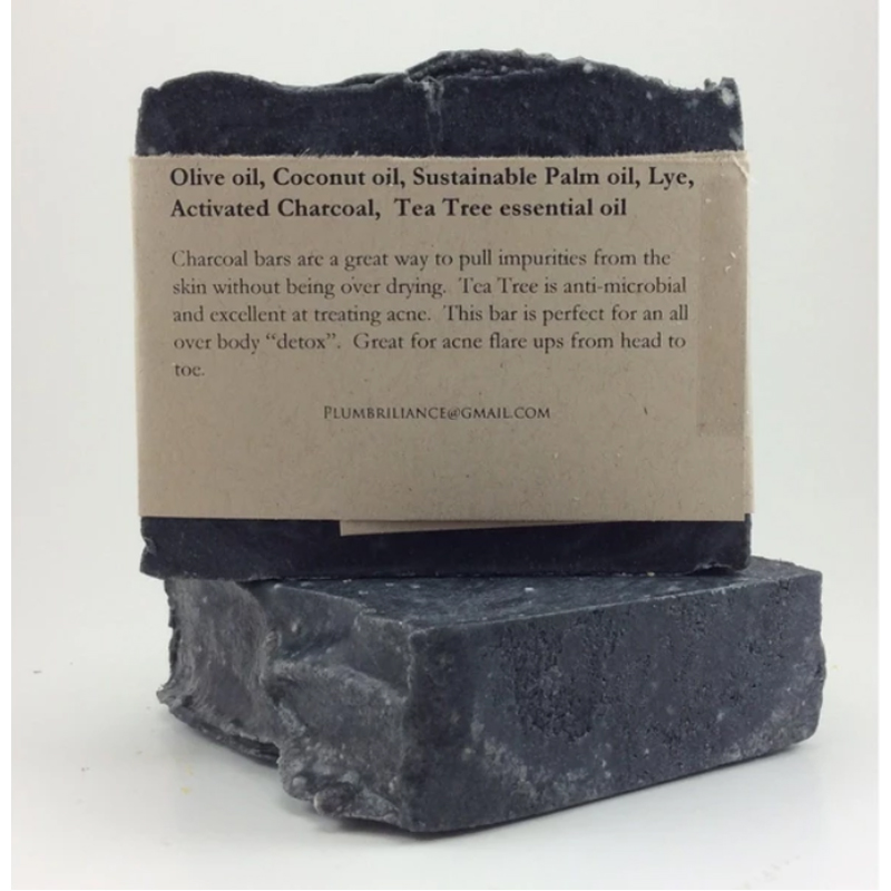 EarthHero - Detox Charcoal Natural Soap Bar - 5