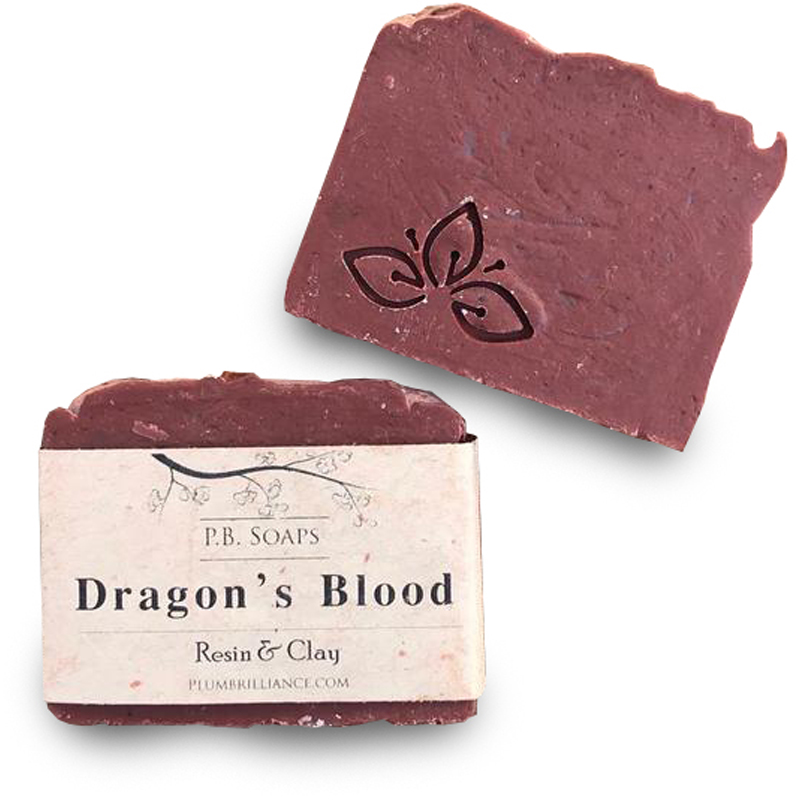 EarthHero - Dragon's Blood Natural Soap Bar - 1