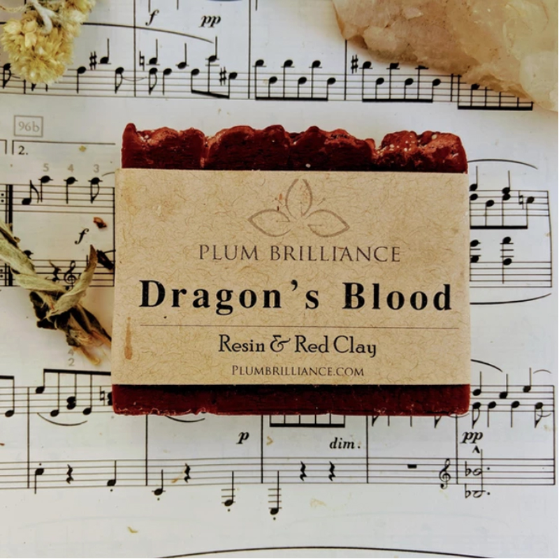 EarthHero - Dragon's Blood Natural Soap Bar - 2