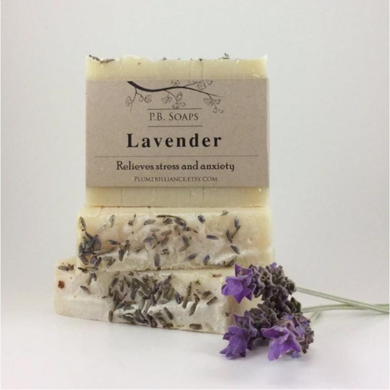 EarthHero - Lavender Natural Soap Bar - 2