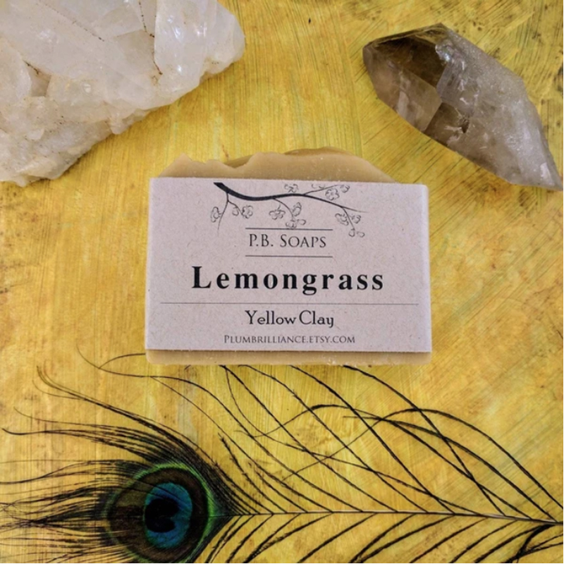 EarthHero - Lemongrass Natural Soap Bar - 2