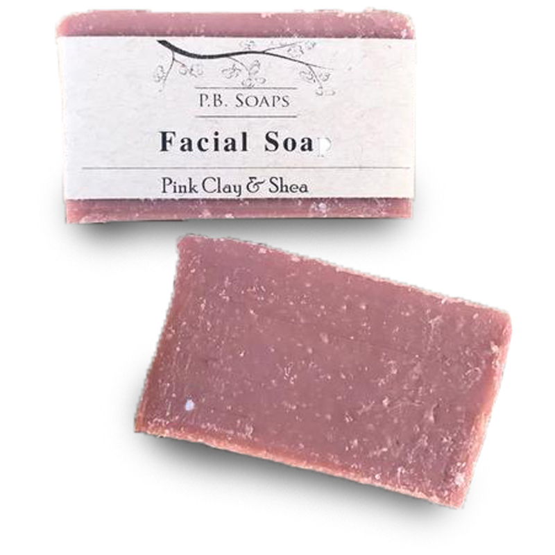 EarthHero - Pink Clay Natural Face Soap Bar - 1