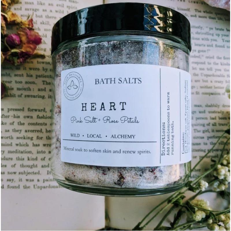 EarthHero - Rose Natural Mineral Bath Salts - 2