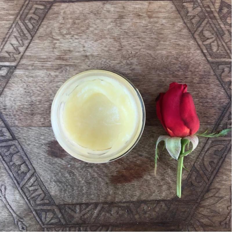 EarthHero - Rose + Sandalwood Natural Body Butter 4oz - 2