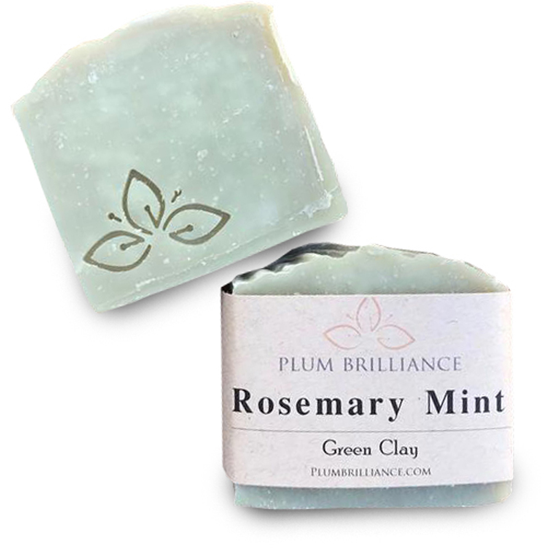 EarthHero - Rosemary Mint Natural Soap Bar - 1