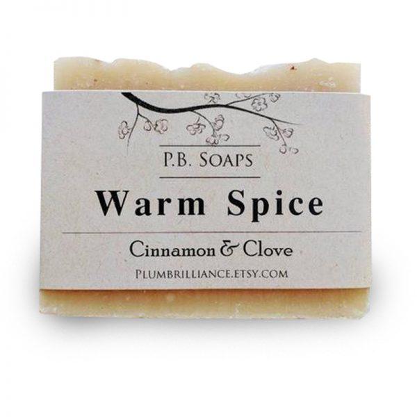 EarthHero - Warm Spice Natural Soap Bar - 1