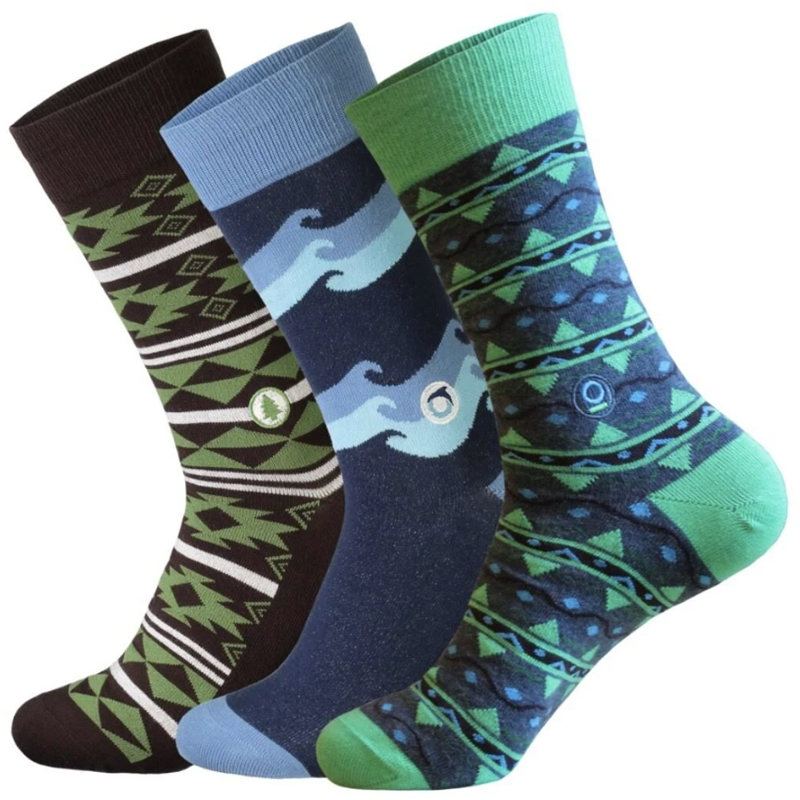 EarthHero - Ethical Socks that Protect the Planet Gift Box 3 Pack - 4