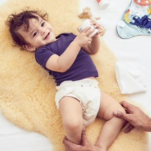 cloth diapers are easy