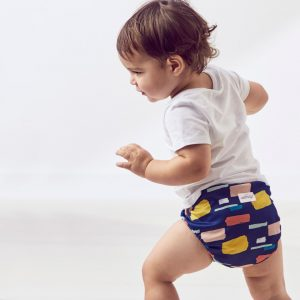 how to potty train with cloth diapers