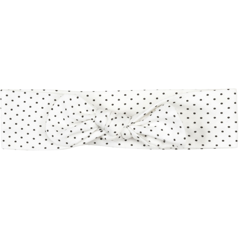 EarthHero - Organic Cotton Bow Baby Headband - Polka Dot
