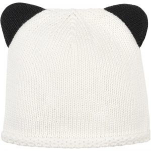 EarthHero - Organic Cotton Panda Knit Baby Hat - 1