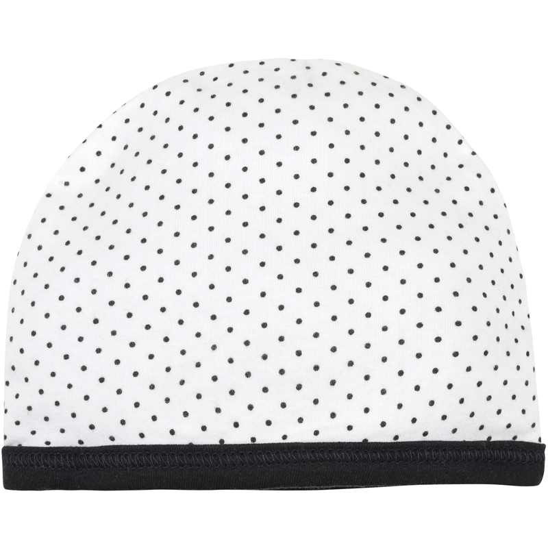 EarthHero - Organic Cotton Polka Dot Baby Beanie - 1